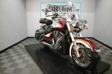 2013 Victory Motorcycles Cross Roads Classic Burgundy Khaki W Graphics