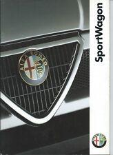 Alfa Romeo Sportwagon 33 1.7 16V Cat Brochure Depliant 1993