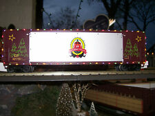 Canadian Pacific Holiday Train 50' Boxcar w/ Opening Stage Door Operating LEDs