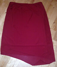 LADIES Red gypsy wrap style SKIRT SIZE 8,10,14  by NAUGHTY NEW RRP £50