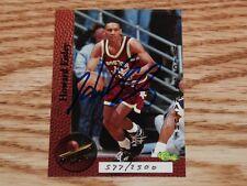 1995 Classic Superior Pix Howard Eisley Rookie Autograph Boston College 577/2500