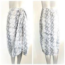 ZIMMERMANN Women's Seer Snake Print Skirt Size 0