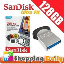 SanDisk Ultra Fit 128GB USB Flash Drive Memory Stick Pendrive USB 3.0 150MB/s