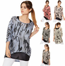 Polyester Graphic Tee Plus Size T-Shirts for Women