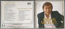 """FRANK MICHAEL """"pour toujours"""" LES PLUS BELLES CHANSONS/CHANSONS DE NOEL - 2 CD"""