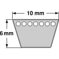 Klassischer Keilriemen Profil (Z) 10 mm DIN 2215 von 1371 mm bis 2946 mm