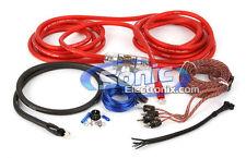 Stinger SK4641 4 Gauge 4000 Series Power + Signal Amplifier/Amp Installation Kit