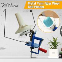 10oz Heavy Duty Needlecraft Metal Yarn/Fiber/Wool Ball Winder Hand Operated US