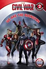 Marvel's Captain America: Civil War: We Are the Avengers (Passport to-ExLibrary