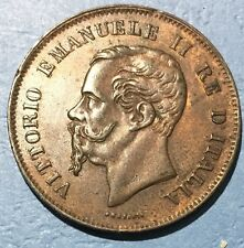 1862 5 Centesimi Itailan Coin-Naples