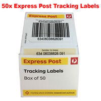 50x Australia Express Post Tracking Labels Stickers Auspost  FREE - Track Parcel