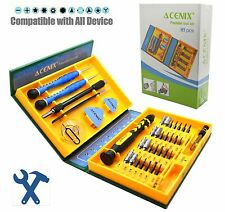 Precision 38 in 1 Screwdriver Set Mobile Phone PC Tablet Repair Kit Tools USA