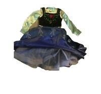 NWT DISNEY STORE Princess ANNA CORONATION COSTUME SHOES 11//12 13//1 2//3 Frozen