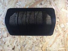 Porsche 924 944 centre dash speaker  cover in black. 477 857 187