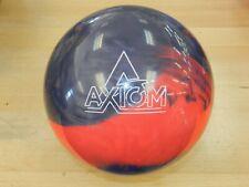 """NIB 15# Storm Axiom Pearl Bowling Ball w/Specs of 15.2/3.5-4"""" Pin/3.36oz TW"""