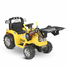 Battery Powered Ride on Bulldozer Truck Lights Mp3 Input Boys Driving Toy Kids