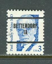 Bettendorf IA 281 precancel on 3 cent Great American