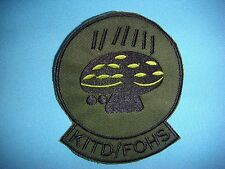 VIETNAM WAR PATCH, US OPERATION IVORY COAST SON TAY ELEMENTS KITD/FOHS