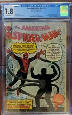 Amazing Spider-Man 3 CGC 1.8 First Appearance Doctor Octopus NO RESERVE