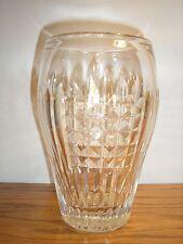 """Rare Thomas Webb Frensham Pattern 7 1/4"""" Cut Crystal Vase"""