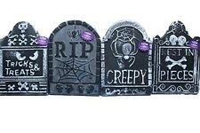 "10 1/4"" x15"" Tombstones Halloween Graveyard Polyfoam Decoration Random Pick of 1"