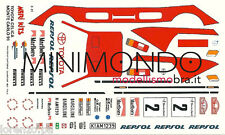 DECALS TOYOTA CELICA WINNER RALLY MONTECARLO 1991 SAINZ 1/43 MERI KITS