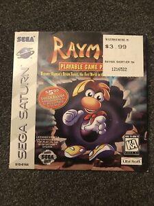 Rayman Demo Sega Saturn