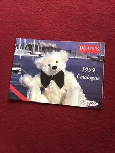 Deans 1999 Teddy Catalogue VGC