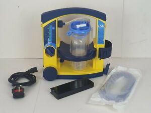 Laerdal LSU Suction Unit Portable Suction Pump+Tubing+NEW Battery Ambulance Pump