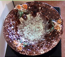 European Majolica Pottery Platters