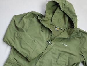 Carhartt Battle Parka jacket mens Coat top size XL olive green Hooded I007888