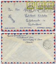 50379 - Kanada - Beleg - Winnipeg 18.6.1959 nach Eisleben