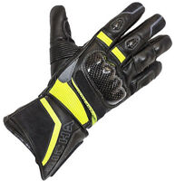 Richa Baltic Evo Glove Winter Thermal Waterproof Motorcycle Gloves Black/Fluo