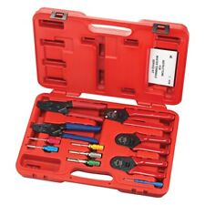 S&G Tool Aid 11-Piece Sae 12-22 Awg Service Deutsch Terminal Crimper Set