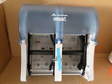 NEW Georgia-Pacific Compact Quad 56743 Splash Blue Vertical Four Roll Coreless