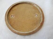 Placa trasera de reloj o barómetro Art Deco era 113 Mm a través de sangrar 102 mm Diam