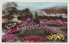 Carnation Garden Daily Mail Ideal Home Exhibition 1933 LONDON England Payne RPPC