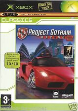 PROJECT GOTHAM RACING 2 for Xbox - with box & manual - PAL