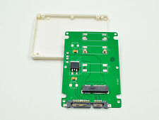 "New Mini PCI-E mSATA SSD to 2.5"" SATA adapter Converter with thickness case"