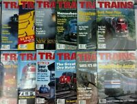 Trains Magazines Complete Year set 1995 all 12 issues