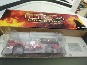 CORGI / HEROES UNDER FIRE - SEAGRAVE K OPEN CAB  - 1/50 SCALE MODEL - US50807