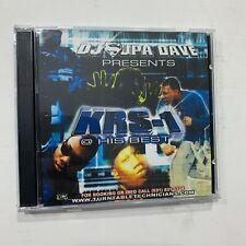 DJ Supadave Presents KRS-1 at His Best NYC Bronx Hip Hop Mixtape Mix CD