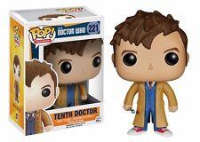 Funko Pop! Doctor Who 10th Doctor Vinyl Figure