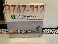 Wie Herpa Wings 1:400 South African Airways Boeing B747-312 ZS-SAJ