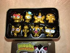 EUC Moshi Monster Accessories Gold Collector Tin - Series 1 (S1)!