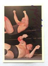 NIKITA KOLOFF SIGNED 1988 NWA WRESTLING WONDERAMA CARD #179 RUSSIAN NIGHTMARE