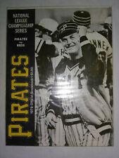 More details for 1979 pittsburgh pirates v cincinnati reds nlcs program