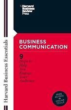 Business Communication (Harvard Business Essentials), , Good Book