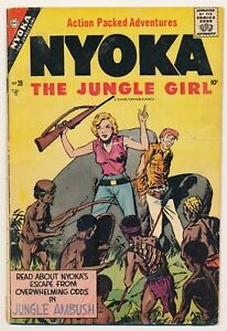 Nyoka the Jungle Girl (1955 Charlton) #20 VG-