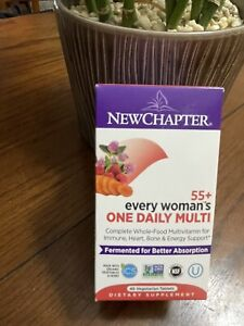 New Chapter 55+ Every Woman's One Daily Multi Vitamin 48 Tablets